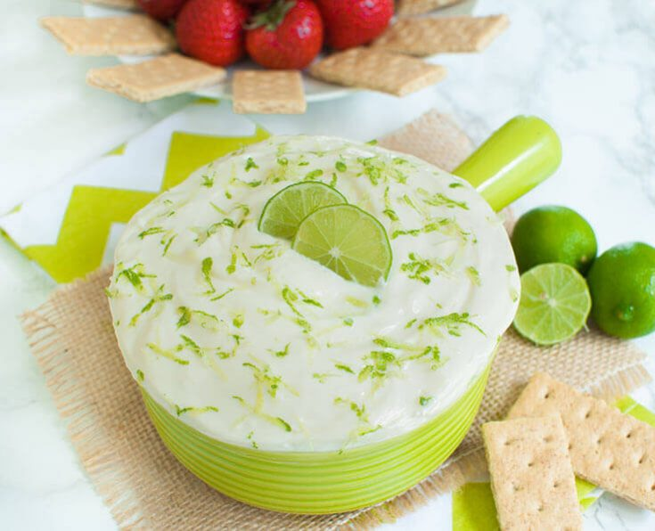 Key Lime Pie Dip with Cream Cheese